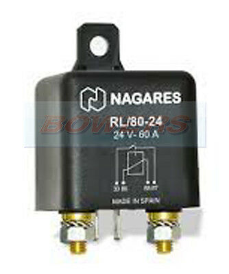 High Performance Hd Relay Rl/80-24 Re2362.1 24V 60A Normally Open Multi Purpose