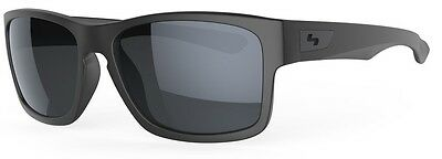 Sundog ELLWOOD 52 Sunglasses Matte Grey Frame Smoke Lens #462110