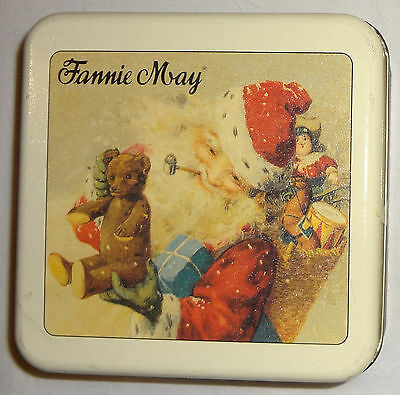 Fannie May Candy Christmas Tin