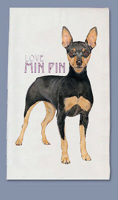 Miniature Pinscher Dish Towel