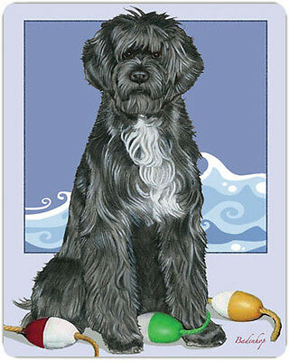Portuguese Water Dog Large Cutting Board