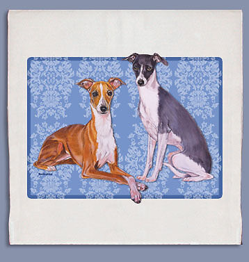 Italian Greyhound Dish Towel