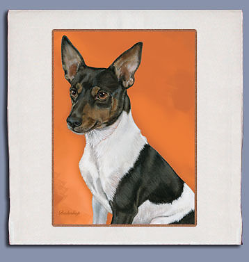 Rat Terrier Dish Towel