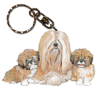 Lhasa Apso Key Ring