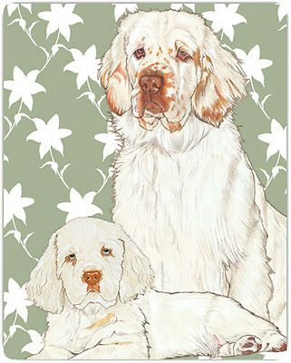 Clumber Spaniel Large Cutting Board