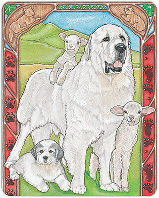 Great Pyrenees Large Cutting Board