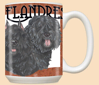 Bouvier des Flandres Ceramic Coffee Mug Tea Cup 15 oz