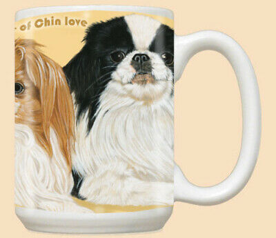 Japanese Chin Ceramic Coffee Mug Tea Cup 15 oz