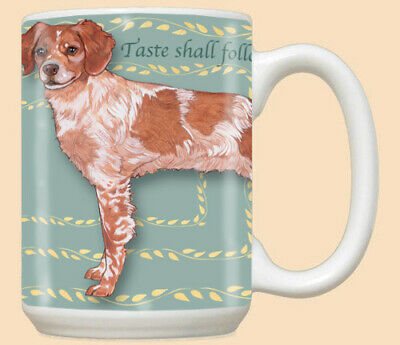 Brittany Dog Ceramic Coffee Mug Tea Cup 15 oz