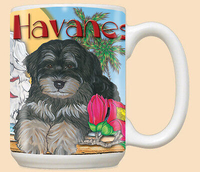 Havanese Ceramic Coffee Mug Tea Cup 15 oz