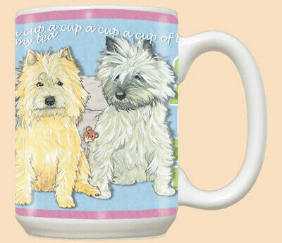 Cairn Terrier Dog Ceramic Coffee Mug Tea Cup 15 oz