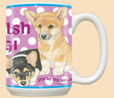 Corgi Welsh Pembroke Ceramic Coffee Mug Tea Cup 15 oz