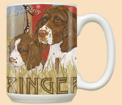 English Springer Spaniel Ceramic Coffee Mug Tea Cup 15 oz