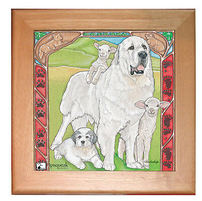 Great Pyrenees Trivet