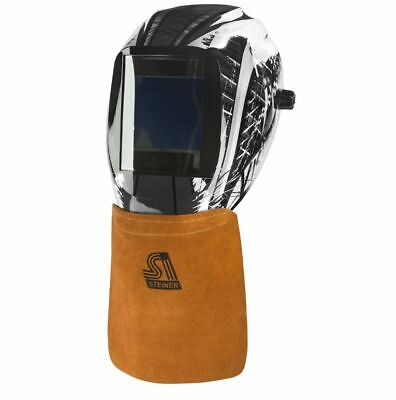 Steiner Leather Welding Helmet Bib 12109 Hook & Loop Hood