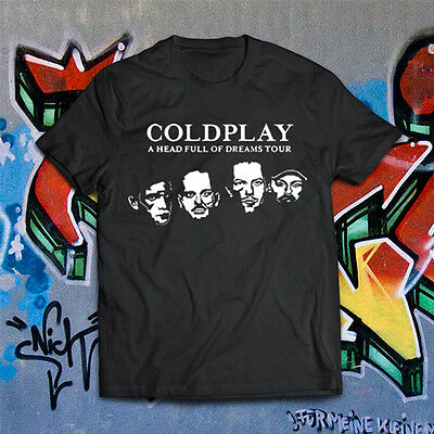 T-Shirt Coldplay Tour A Head Full Of Dreams Tour Milano Maglia No Biglietto 2017