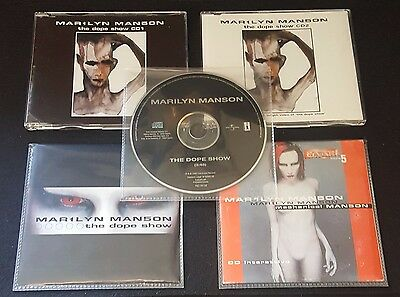 Marilyn Manson - The Dope Show (Promotional  Set) + A Gift Promo Cd!!