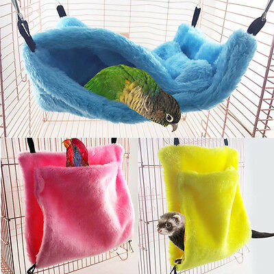 Hammock Mini House for Pet Ferret Rat Hamster Parrot Squirrel Hanging Bed Toy