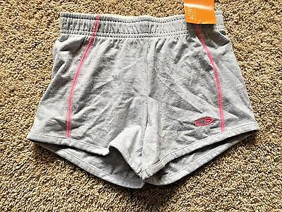 NWT Girls Gray Champion Athletic Shorts Small 6/6X