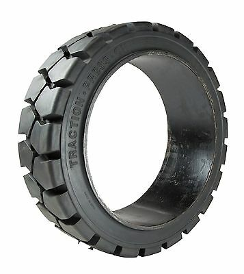 14x4.5x8, 14x4.5-8, 14-4.5-8, Traction Solid Press On Forklift Tire, (2 Tires)