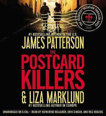 The Postcard Killers by James Patterson and Liza Marklund (2010, CD, Unabridged)