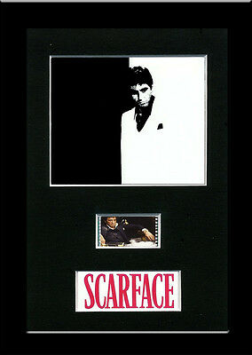 Scarface Framed 35mm Mounted Film cells  movie memorabilia collectible xmas gift