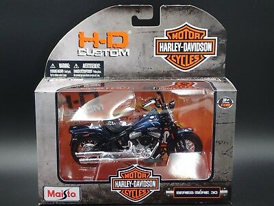 2008 FLSTSB CROSS BONES HARLEY DAVIDSON MAISTO Series 30 1/18 MOTORCYCLE MODEL