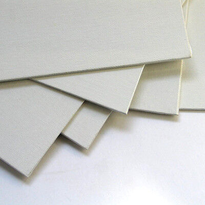 12 Pack Economy Canvas Panels 12X16 White Acid Free Artist Canvas