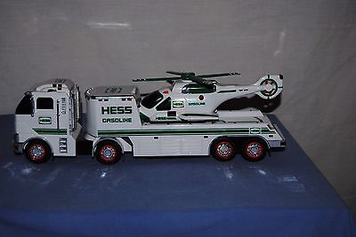 2006 Hess Gasoline Toy Truck And Helicopter