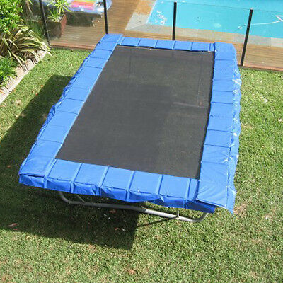 Rectangular Safety Pads (18 Metres) - Blue - 2 Year Warranty