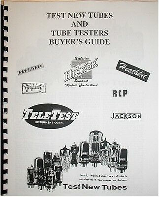 Tube Tester Buying Guide Hickok B&k Rcp
