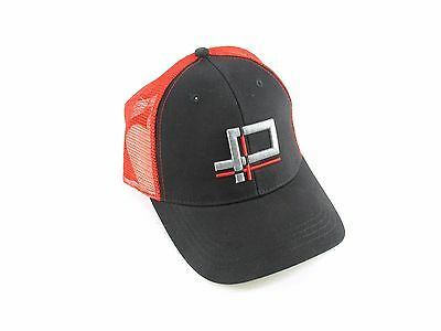 Boco Mesh Snapback Cap - One Size Fits All - Red / Black - Unisex