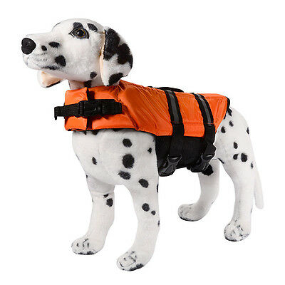 Pet Aquatic Preserver Float Vest Dog Saver Life Jacket Safe Supplies Abundant