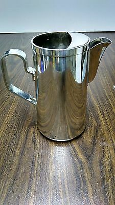 DJ, Japan, Silver Plated Water Pitcher, Vintage, Hotel Quality, Excellent Cond