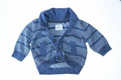 """Size 0-3 Months Boys """"Next"""" Knit Jumper. Great Condition! Bargain Price!"""