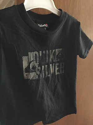 BRAND NEW Baby Boys Black Quicksilver T Shirt Size 18mths