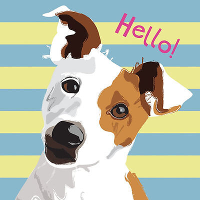 Waggy tails charity birthday card jack russell 188 picclick uk jack russell terrier dog waggy tails blank greetings card dogs trust charity bookmarktalkfo Image collections