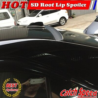 Flat Black LRS Type Rear Roof Spoiler Wing For Honda Civic 2006-2011 2D Coupe ♘