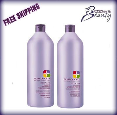 Pureology Hydrate Shampoo and Conditioner 1000ml Duo Pack