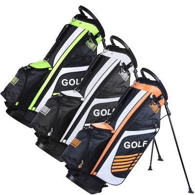 14 Way Divider Golf Club Carry Stand Bags Mens Business Leisure Sports INCD VAT