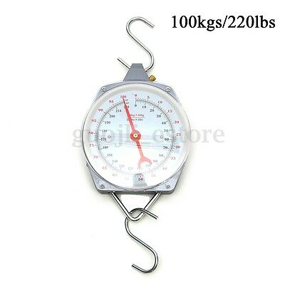 Alloy Quality 100kg Heavy Hanging Weighing Scales Mechanial with Hook Fishing