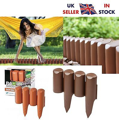 Palisade Lawn Edge Border Garden Edging Fencing Frost Proof Length:2.5m