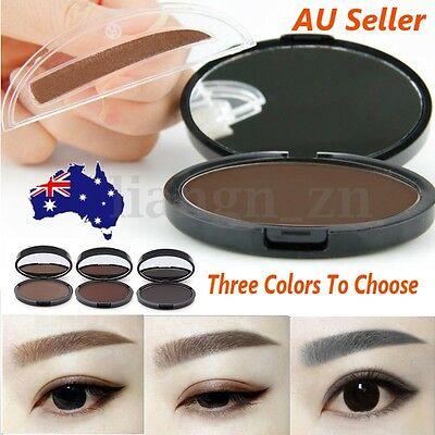 Natural Eyebrow Shadow Powder Palette Delicated New Makeup Brow Stamp Definition