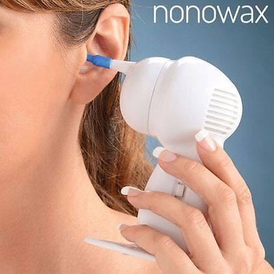Nonowax Ear Cleaner, Home Health Personal Hygiene Remove Wax From Ears Device