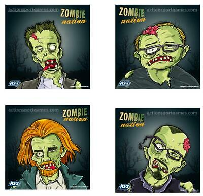 ASG Zombie Shooting Targets x 100 Living Dead Air Rifle Airsoft Target Practice