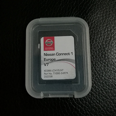 Genuine Nissan Sat Nav Sd Card Connect 1 Lcn1 Latest Sd Card V7 2016/2017 Maps