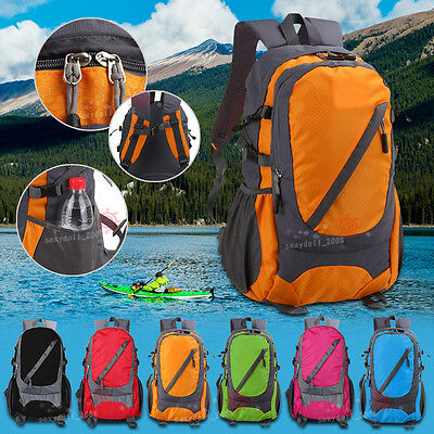 New UK 40L Camping Climbing Hiking Outdoor Travel Backpack Rucksack Bike Bag