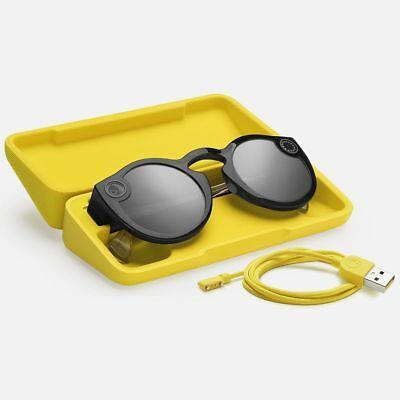 IN OZ Brand NEW SNAP Inc Snapchat Spectacles Camera / Glasses - Black - UNOPENED