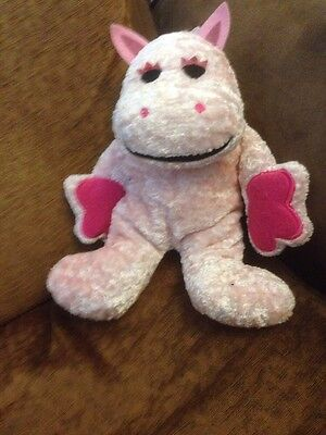 Pink George The Hippo From Rainbow Soft Toy