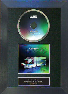 JLS Greatest Hits Signed CD Mounted Autograph Photo Prints A4 29
